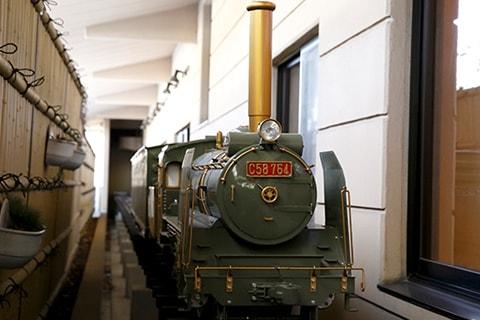 お狩場 SL列車 写真