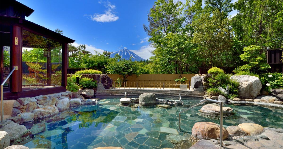 トップページ 富士山が見える河口湖日帰り温泉『富士眺望の湯 ゆらり』