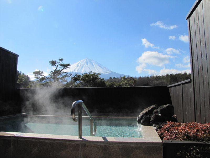 富士山の眺望が良いパノラマ風呂
