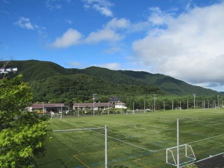 北側富士緑の休暇村人工芝