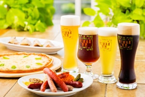 自家製ビールとガーデニングのレストラン シルバンズ 概観写真