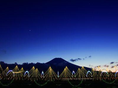 富士山・河口湖冬の「光の祭典」