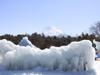 冬のおススメ観光スポット!西湖樹氷祭りで富士山を満喫♪