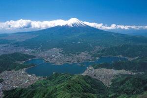 富士山俯瞰写真