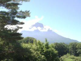 7月18日 本日の富士山